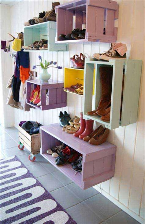 diy storage ideas for shoes 28 clever diy shoes storage ideas that will save your time