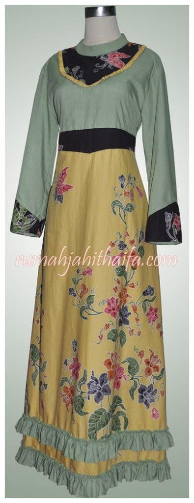 Gamis Ima Toyobo By Yumnaa gamis batik ibu tina andriani rumah jahit haifa