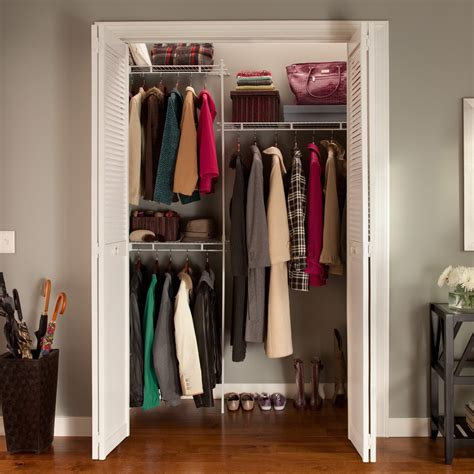 Closetmaid Closet Accessories Closetmaid Up To 5 Ft Closet Organizer Wire Closet