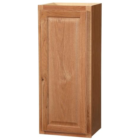 home depot unfinished oak cabinets assembled 36x12x12 in wall kitchen cabinet in unfinished