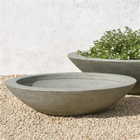 low bowl planters cania international medium low zen cast planting