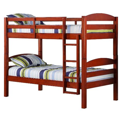 Target Loft Bed by Solid Wood Bunk Bed Walker Edison Target