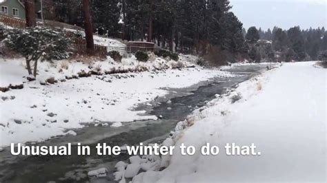 winter weather update from bend oregon usa youtube