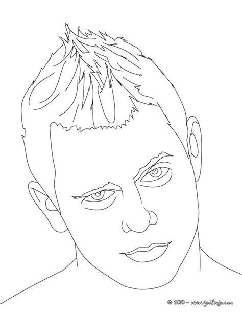 imagenes para colorear wwe dibujos para colorear the miz es hellokids com
