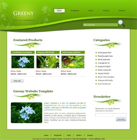 page layout css landscape template website learnhowtoloseweight net