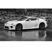 Cars Vehicles Lexus Lfa Selective Coloring White