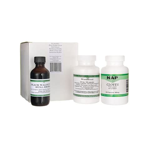 20 Day Detox Cleanse by 20 Day Parasite Cleanse Program 1 Kit