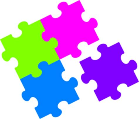 small printable jigsaw puzzles jigsaw puzzle color clip art at clker com vector clip