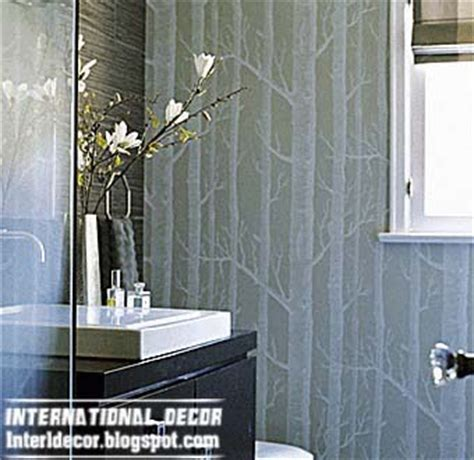 Modern Wallpaper For Bathrooms Modern Wallpaper For Bathrooms 2014 10 Basic For Bathroom Wallpaper