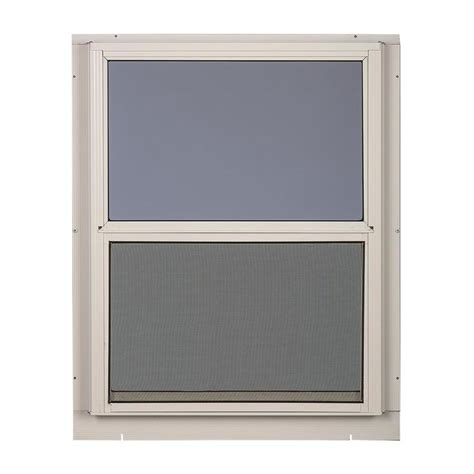 comfort bilt storm windows shop comfort bilt single glazed aluminum storm window