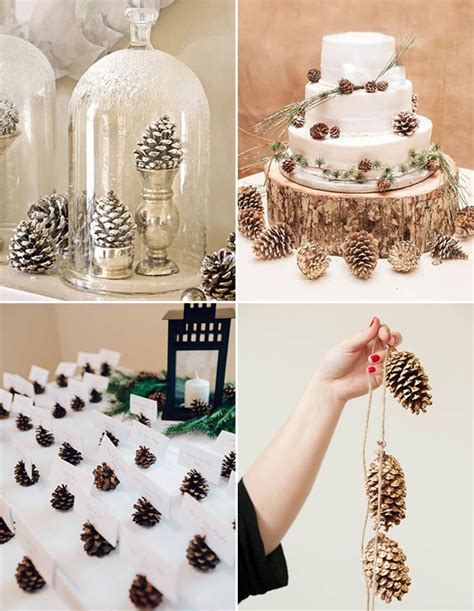 Winter Wedding Ideas by 5 Simple Inexpensive Winter Wedding Decor Ideas