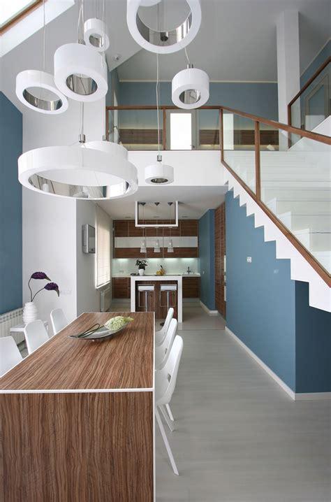 diseno de interiores de casas dise 241 o casa moderna dos plantas y planos construye hogar