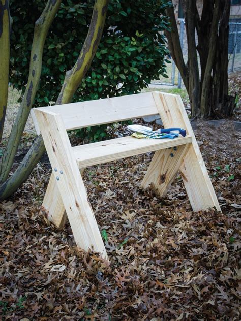 easy outdoor bench how to make an easy garden bench easy crafts and