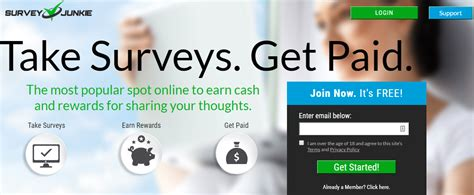 Take Survey For Money - survey junkie review the money reviews