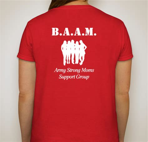 Tshirt I Will Remember You Baam baam friday caign custom ink fundraising