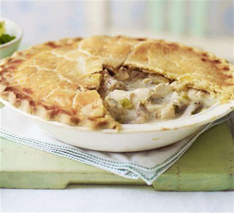 Chicken Pastry lemony roast chicken pie recipe food