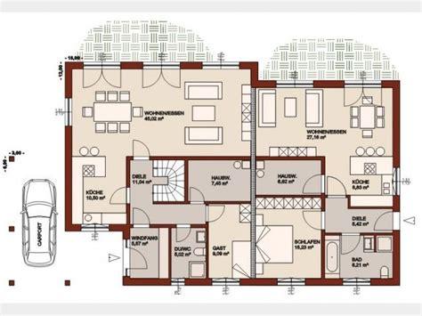 Grundriss Eg Einfamilienhaus by Grundriss Eg Mit Einliegerwohnung Grundrisse
