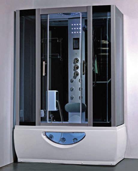 cabine vasca da bagno box idromassaggio con vasca da 150x85cm o 167x85cm con
