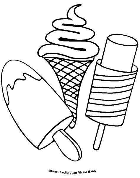 Ice Cream Coloring Pages Pdf | ice cream cone coloring pages coloring home