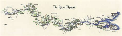 River Thames Outline by Cross Stitch Needlecraft And Embroidery Patterns By Sue