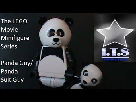 Lego Minifigure Panda Suit the lego minifigure series panda