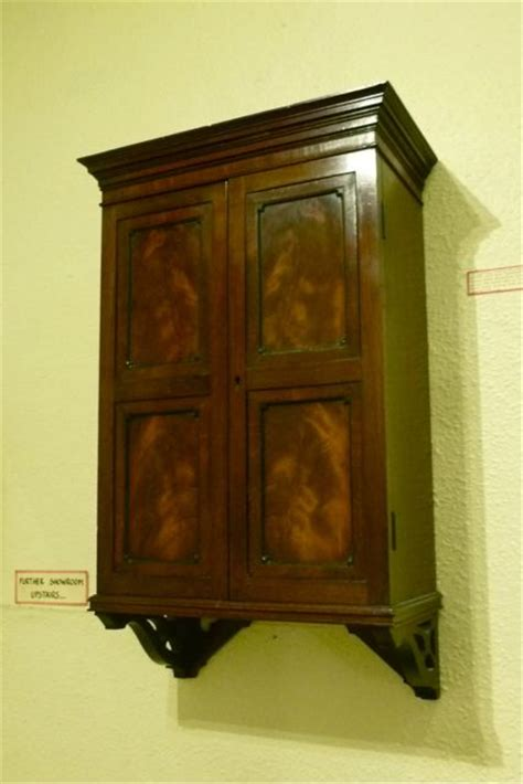 a pretty and small hanging wall cabinet 280469