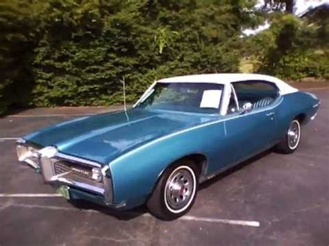 how to fix cars 1968 pontiac lemans on board diagnostic system sold for sale 1968 pontiac lemans youtube