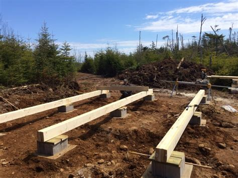 build  rock solid  cost  grid cabin foundation