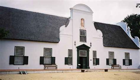 dutch style house plans cape dutch architecture in cape town