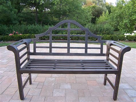 metal outdoor benches metal outdoor bench choosing maintaining and decorating