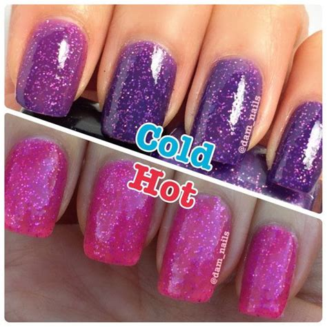 color changing nail in water best 25 purple nail ideas on fall nail