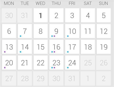 C Calendar Library Github Vdesmet93 Holo Calendar A Holo Calendar Library