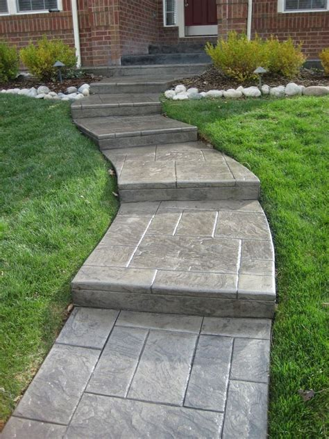 25 best ideas about concrete front steps on pinterest concrete front porch painted concrete