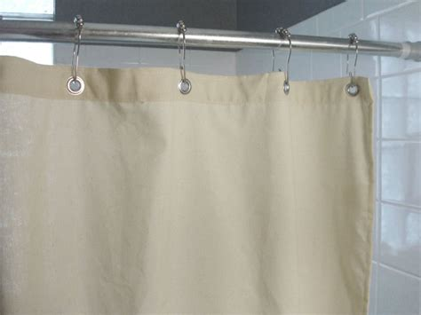 hemp shower curtain cotton or hemp shower curtain buy natural shower curtain