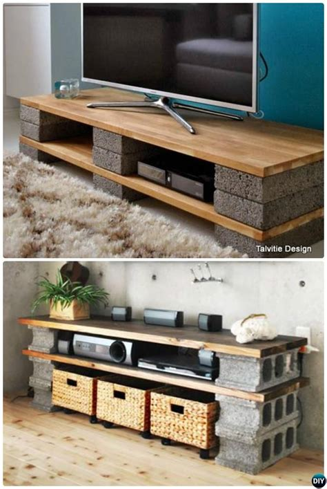 diy channel best 25 cinder block furniture ideas on pinterest