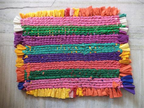 How To Make A Doormat how to make a door mat from wasted clothes tips and tricks embroideryshristi forum