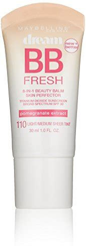 Maybelline New York Fresh Bb 5 best bb creams for all skin types