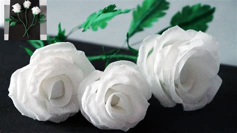 How To Make Flowers Out Of Wrapping Paper - flowers how to make tissue paper crepe