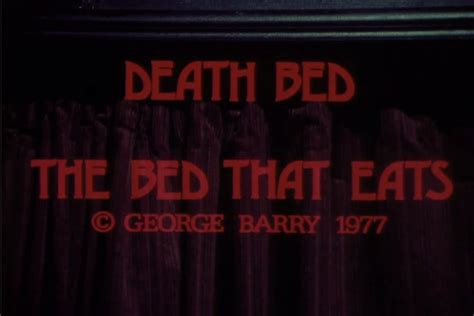 deathbed the bed that eats the end of summer shitty flicks death bed the bed that eats