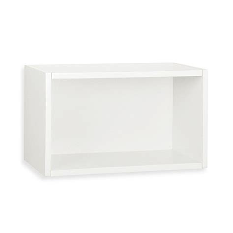 rectangle wall shelf room decor gt way basics wall rectangle floating shelf in