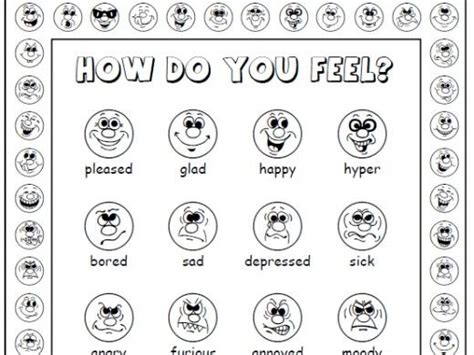 printable emotions poster how do you feel printable poster and flashcards set