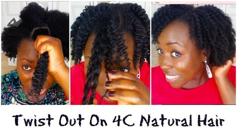 Hairstyles For Medium Length Hair 4a by Twist Out On Medium 4c 4b 4a Coily Hair With Diy