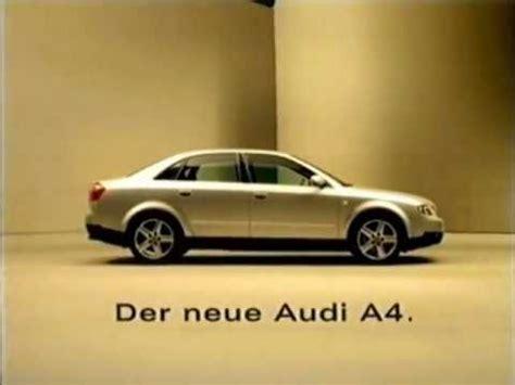 Musik Audi Werbung by Audi A4 Werbung 2000 Youtube