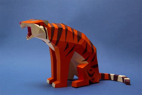 Paper Animals - geometric paper birds and animals by estudio guardabosques