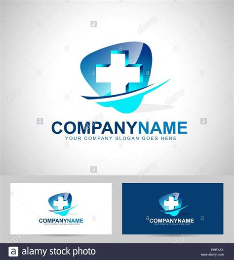 nhs id card template design concept hospital vector icon with business