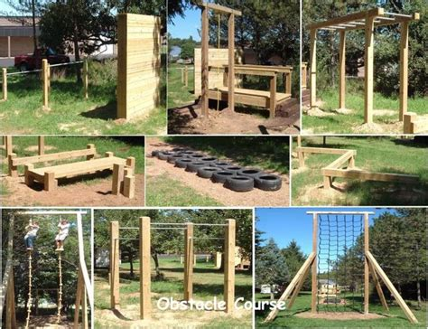 Backyard Obstacle Course Johnson Inc Obstacle Course Just Cool
