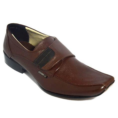Sepatu Formal Kulit Kantor Kerja Golfer Original Murah Terbaru Elegan 10 jual sepatu pantofel tanpa tali bahan kulit sepatupria99