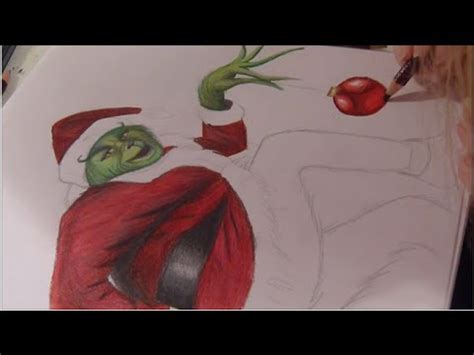 how to draw grinch youtube drawing the grinch youtube