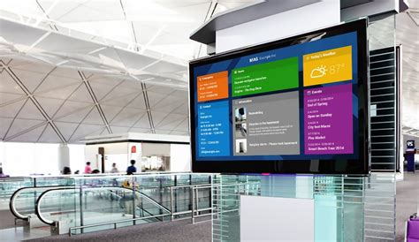 Is Your Enterprise Getting Its Money S Worth From Digital Signage Techiestate Tv Signage Templates