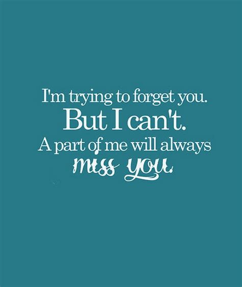 Forget Me If You Can cant forget you quotes quotesgram